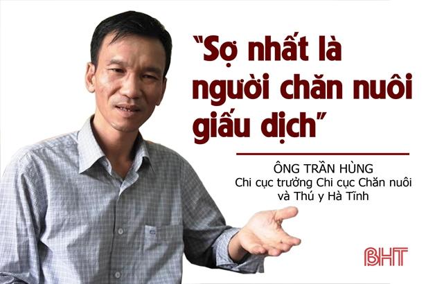 """Ngăn dịch tả lợn Châu Phi """"vượt"""" sông Lam vào Hà Tĩnh"""