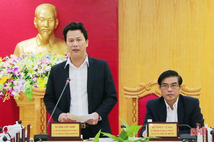 Chủ tịch UBND tỉnh Hà Tĩnh: KT-XH quý I tăng trưởng tích cực nhưng không được chủ quan