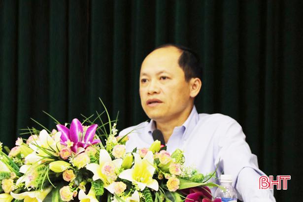 Chỉ số CCHC thành phố Hà Tĩnh đứng đầu trong các đơn vị cấp huyện