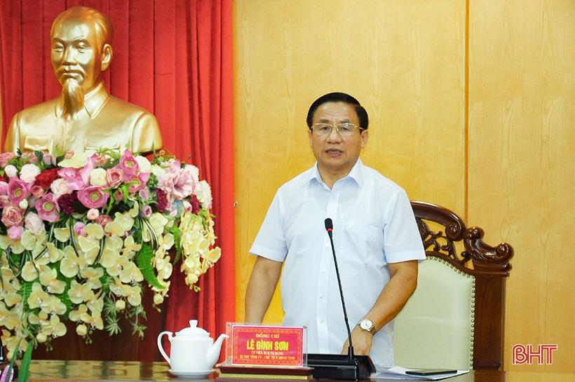 Tăng cường sự lãnh đạo của Đảng, đảm bảo MTTQ tỉnh Hà Tĩnh hoạt động hiệu lực, hiệu quả