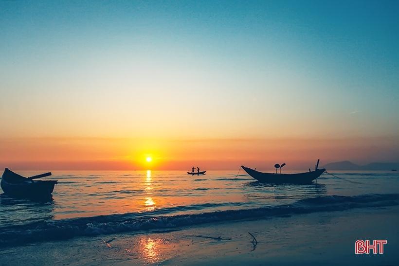 """Bãi biển Kỳ Ninh đẹp """"hút hồn"""" trước ngày khai trương mùa du lịch 2019"""