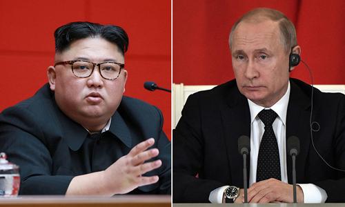 Đoàn tàu bọc thép của ông Kim Jong-un đã đi vào lãnh thổ Nga