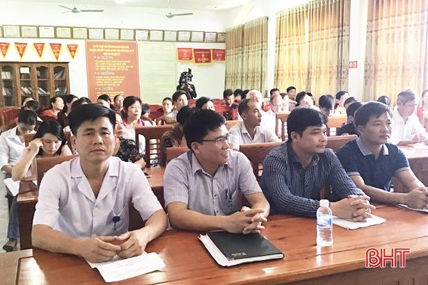 150 chủ nhà hàng ở Lộc Hà được tập huấn vệ sinh ATTP chuẩn bị cho mùa du lịch biển