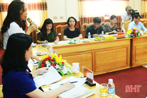 Lộc Hà tiếp tục nâng cao chất lượng giáo dục, đào tạo lý luận chính trị