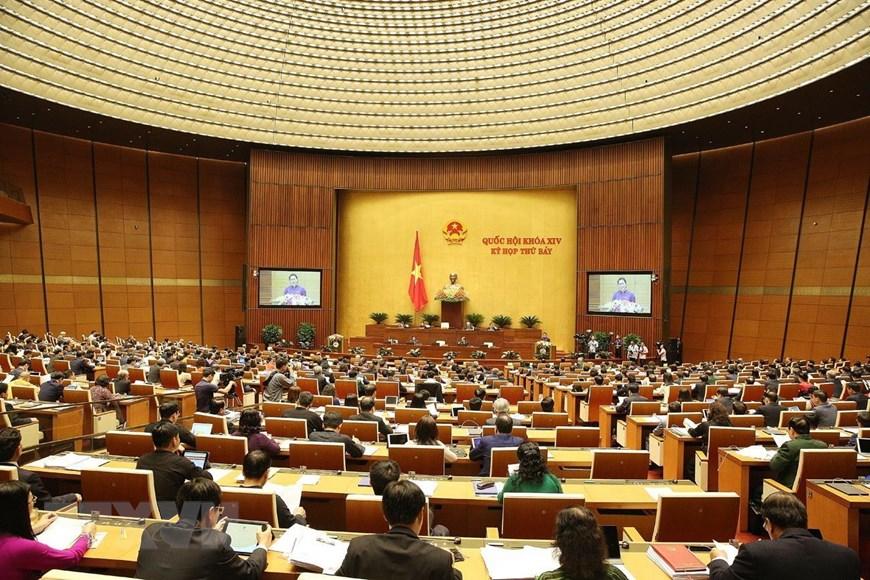 Khai mạc Kỳ họp thứ 7, Quốc hội khóa XIV