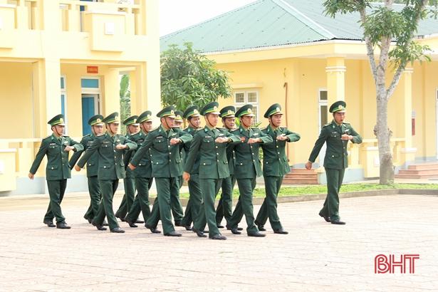 Lính Biên phòng Hà Tĩnh huấn luyện tốt, sẵn sàng chiến đấu cao