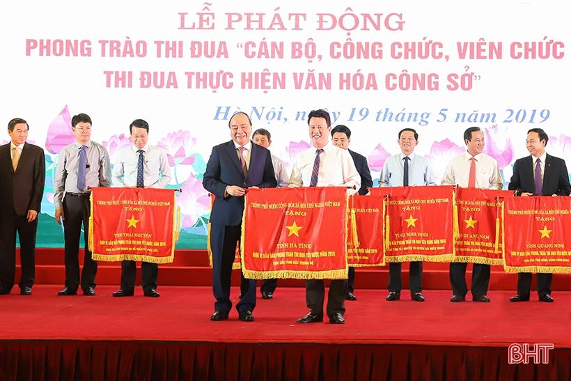 Hà Tĩnh là 1 trong 11 địa phương dẫn đầu phong trào thi đua yêu nước năm 2018