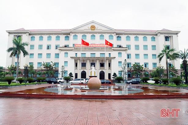 UBND tỉnh Hà Tĩnh thay đổi lịch tiếp công dân định kỳ tháng 6/2019