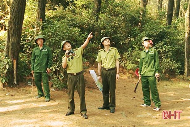 Nắng như đổ lửa, Hà Tĩnh thường trực 24/24h phòng chống cháy rừng