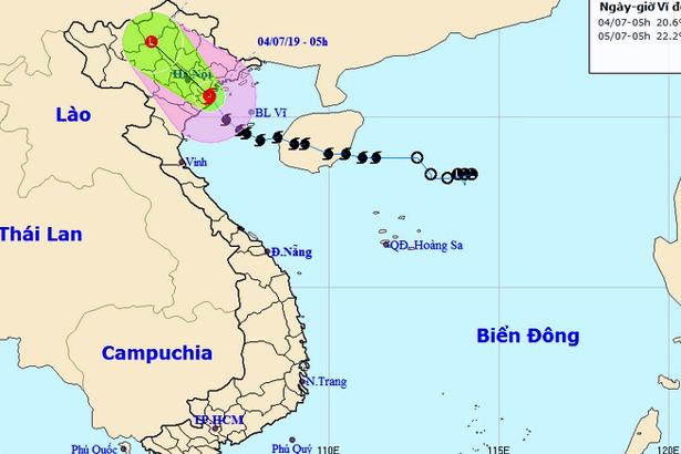 Bão số 2 đổ bộ vào đất liền, Hà Tĩnh tiếp tục có mưa rải rác