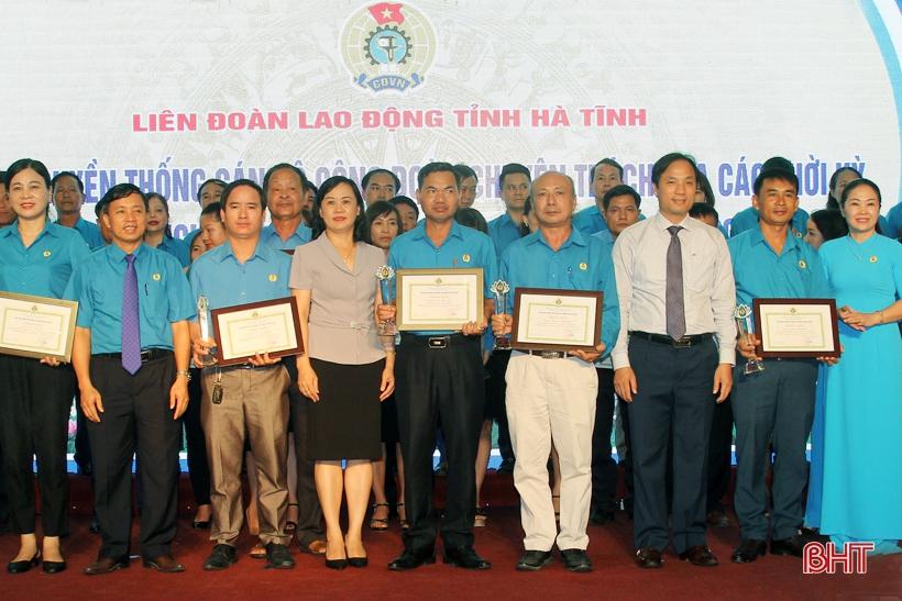 Hà Tĩnh vinh danh 40 cán bộ công đoàn cơ sở tiêu biểu