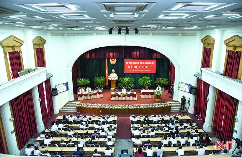 Xây dựng kế hoạch, triển khai ngay các nghị quyết HĐND tỉnh Hà Tĩnh Khóa XVII