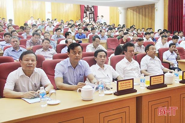 Ban Thường vụ Tỉnh ủy Hà Tĩnh bồi dưỡng nghiệp vụ về nội chính, phòng chống tham nhũng