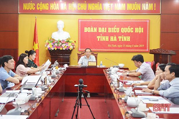 Đoàn ĐBQH Hà Tĩnh tiếp tục đề nghị dừng khai thác mỏ sắt Thạch Khê