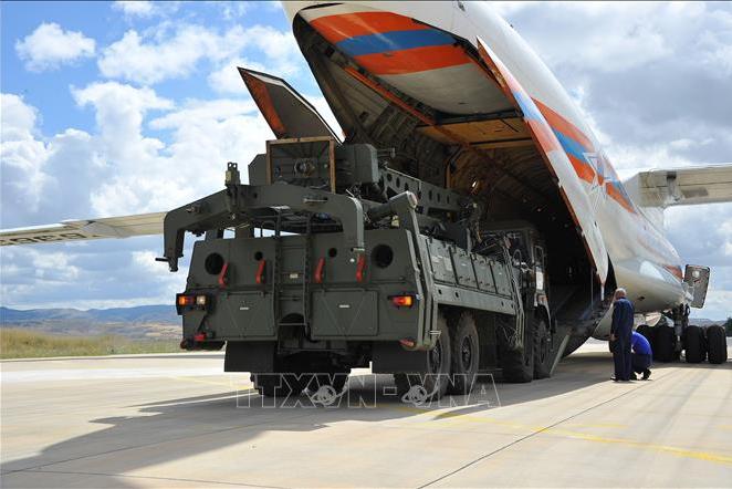 Nga - Thổ Nhĩ Kỳ hoàn tất chuyển giao khẩu đội tên lửa S-400 thứ 2