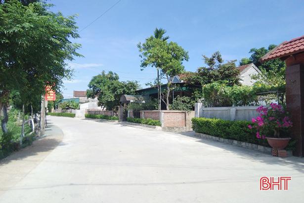 TP Hà Tĩnh đề nghị công nhận hoàn thành nhiệm vụ nông thôn mới