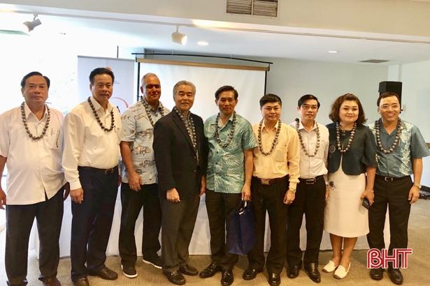 Lãnh đạo Hà Tĩnh tham gia đoàn quảng bá địa phương Việt Nam tại Hoa Kỳ