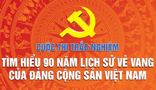 """Hà Tĩnh giành 3 giải cuộc thi """"Tìm hiểu 90 năm lịch sử vẻ vang của Đảng Cộng sản Việt Nam"""""""