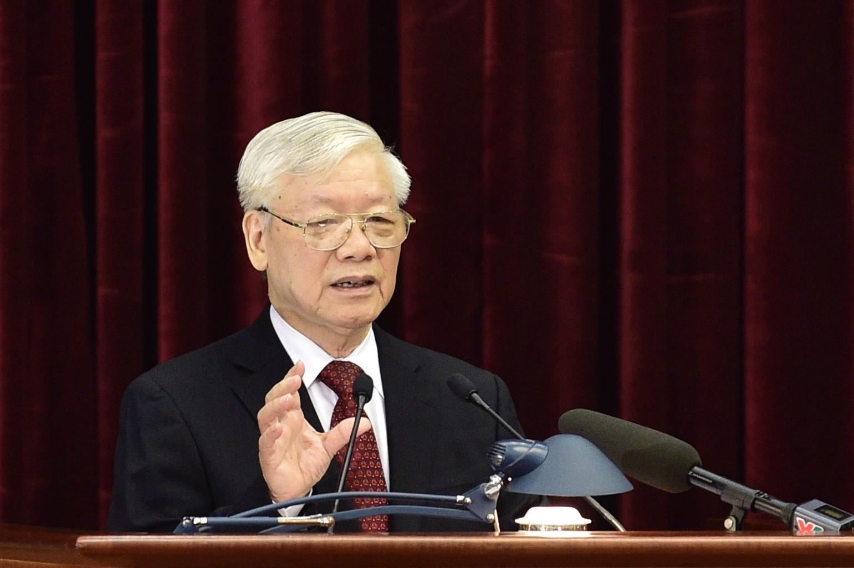 Ngày làm việc thứ nhất Hội nghị lần thứ 11 Ban Chấp hành Trung ương Đảng khóa XII
