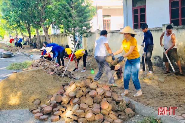 Sáp nhập tổ dân phố ở TP Hà Tĩnh: Giảm chi ngân sách, nâng cao hiệu quả đầu tư
