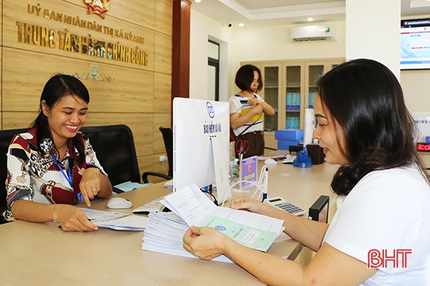 Tỷ lệ hồ sơ giải quyết trước và đúng hạn của Hà Tĩnh đạt 99,46%