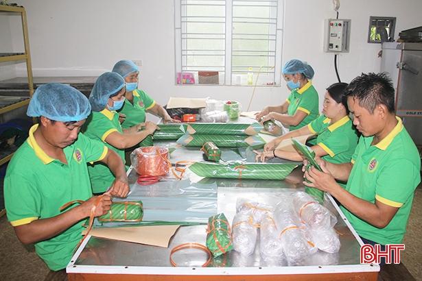 Đầu tư theo chiều sâu, sản phẩm công nghiệp nông thôn Hà Tĩnh vươn xa trên thị trường