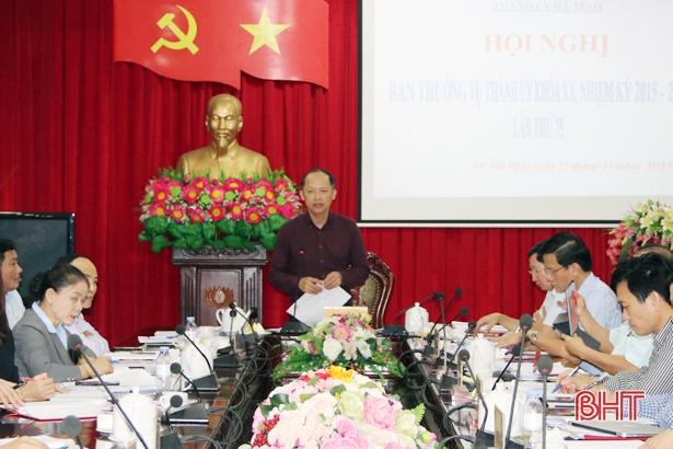 TP Hà Tĩnh đạt nhiều dấu ấn cải cách hành chính, đô thị, xây dựng nông thôn mới