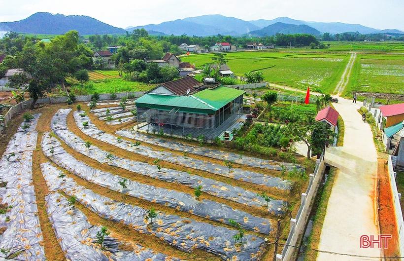 Xây dựng nông thôn mới, Hà Tĩnh từng bước giải quyết hiệu quả các vấn đề xã hội
