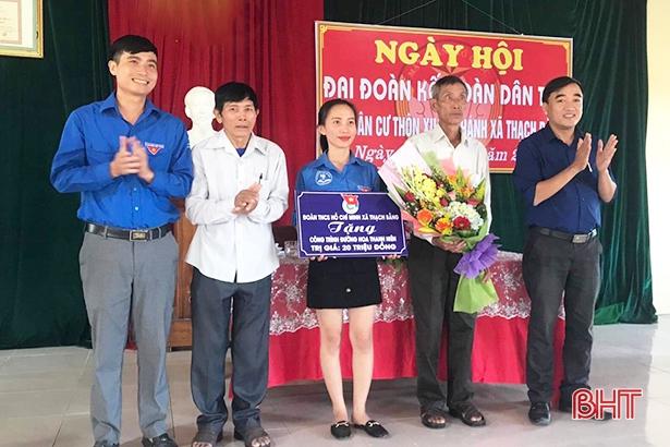 Tuổi trẻ Lộc Hà đóng góp gần 5.000 ngày công xây dựng nông thôn mới