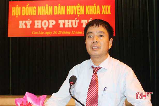 Can Lộc phấn đấu nâng chuẩn nông thôn mới bền vững