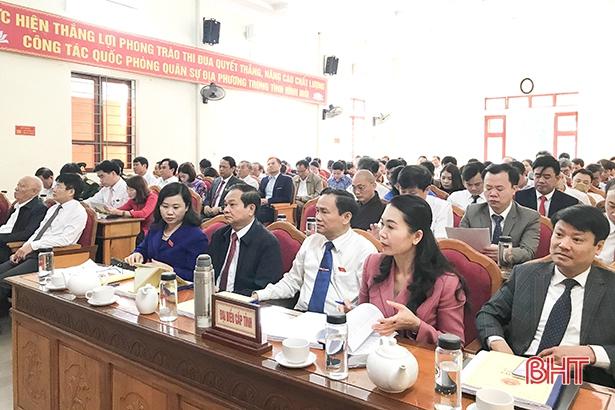 HĐND thị xã Hồng Lĩnh bàn giải pháp đạt đô thị loại 3 năm 2020