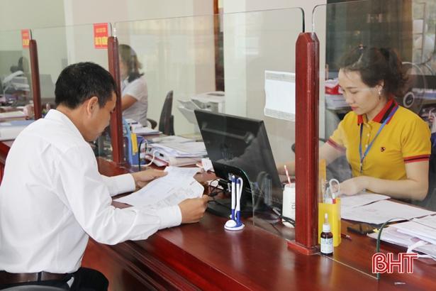 100% đơn vị hưởng ngân sách ở TX Hồng Lĩnh sử dụng dịch vụ công trực tuyến