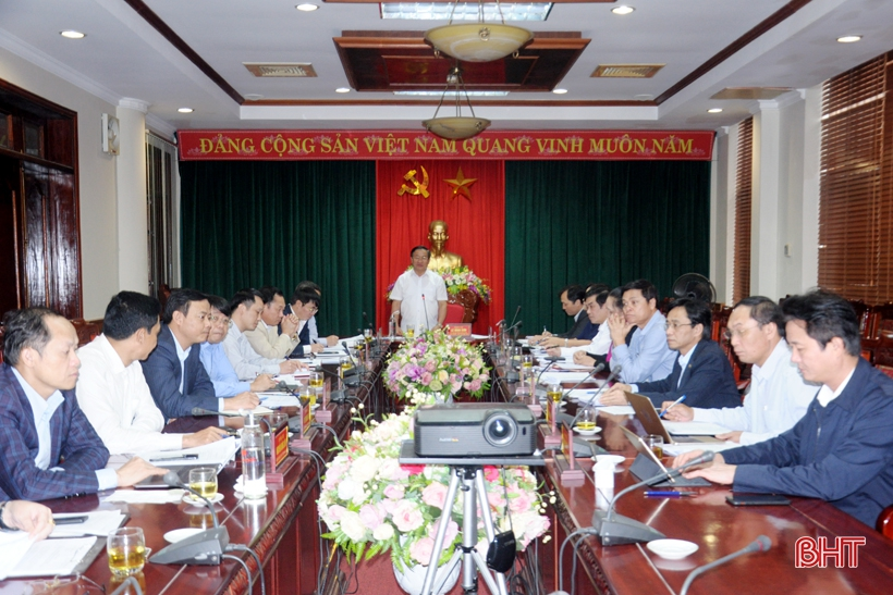 Ban Thường vụ Tỉnh ủy Hà Tĩnh hoàn thành kiểm điểm công tác lãnh đạo, chỉ đạo