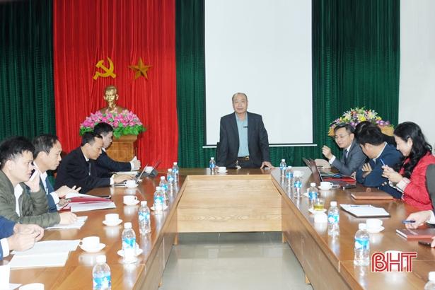 Thí điểm chuyển giao nhiệm vụ hành chính công ở 7 sở, ngành Hà Tĩnh