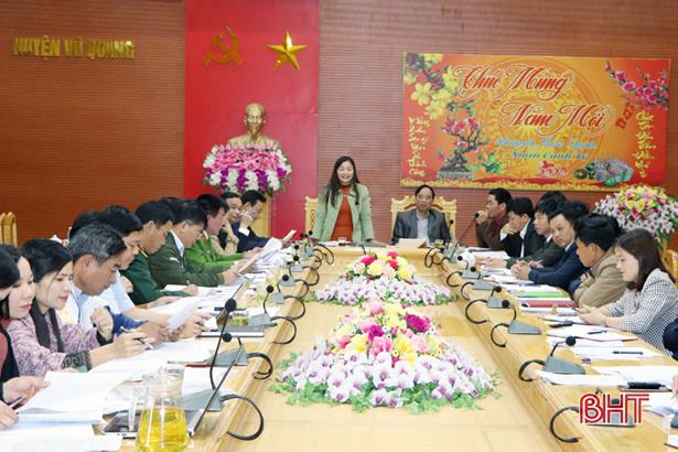 Chủ tịch Ủy ban MTTQ tỉnh: Chuẩn bị tốt đại hội điểm Đảng bộ xã Đức Lĩnh