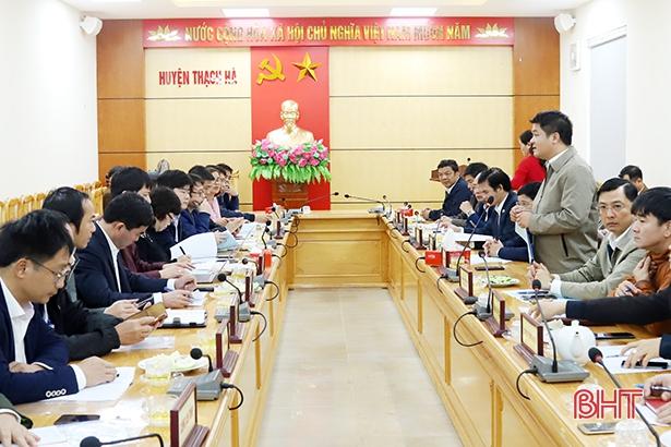 Thạch Hà phấn đấu đến tháng 5/2020 đạt chuẩn huyện nông thôn mới