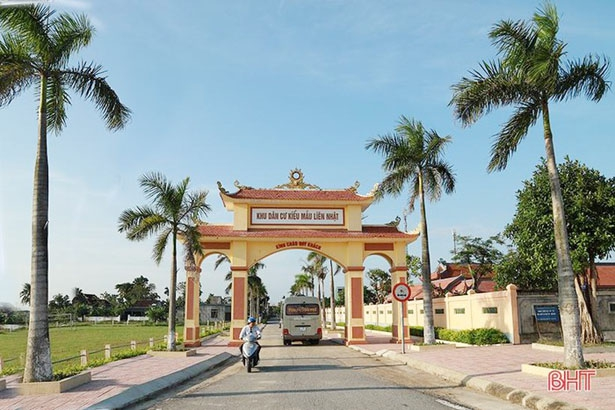 Chủ tịch nước tặng Huân chương Lao động hạng ba cho TP Hà Tĩnh về xây dựng nông thôn mới
