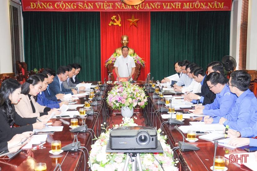 Xây dựng đội ngũ cán bộ đoàn Hà Tĩnh nhiệt huyết - đổi mới - sáng tạo - giữ vững nền tảng tư tưởng của Đảng
