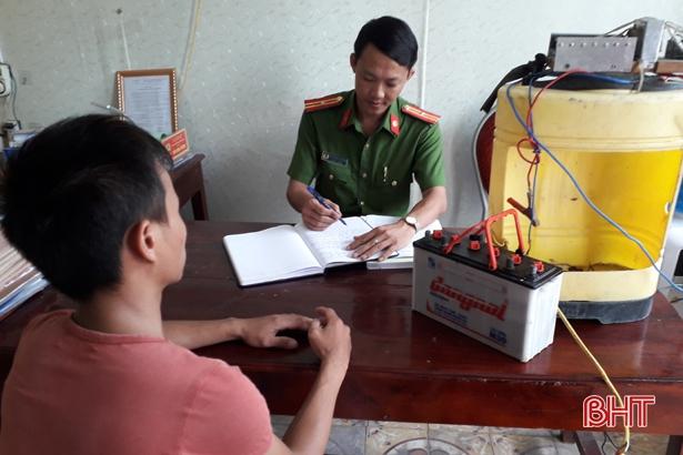 Kiên quyết xử lý nghiêm vi phạm chống khai thác IUU ở Hà Tĩnh