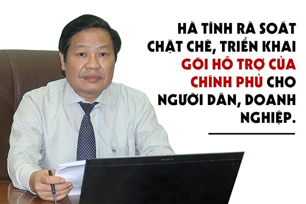 Hà Tĩnh rà soát chặt chẽ, sớm triển khai gói hỗ trợ của Chính phủ cho người dân, doanh nghiệp