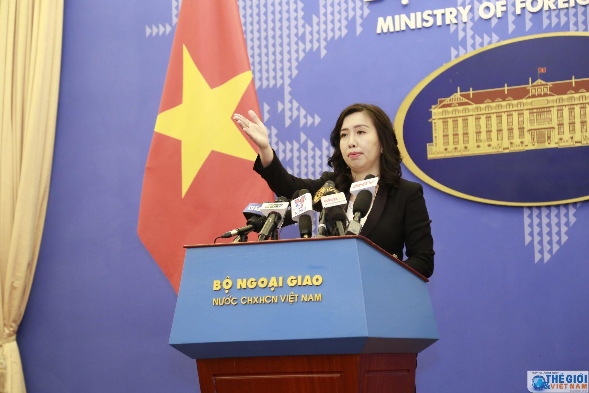"""Việt Nam phản đối mạnh mẽ Trung Quốc thành lập cái gọi là """"thành phố Tam Sa"""