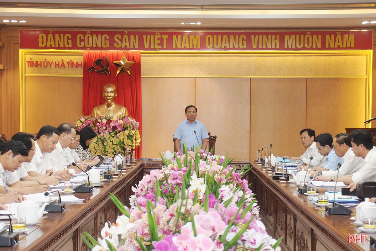 Khuyến khích huyện Nghi Xuân bầu Bí thư Huyện ủy trực tiếp tại đại hội
