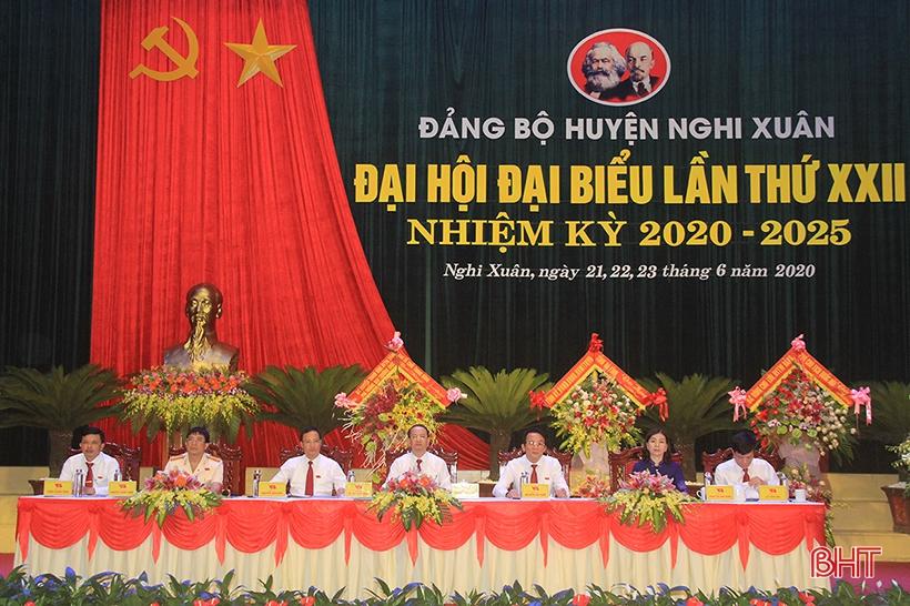 Khai mạc Đại hội đại biểu Đảng bộ huyện Nghi Xuân khóa XXII nhiệm kỳ 2020 - 2025