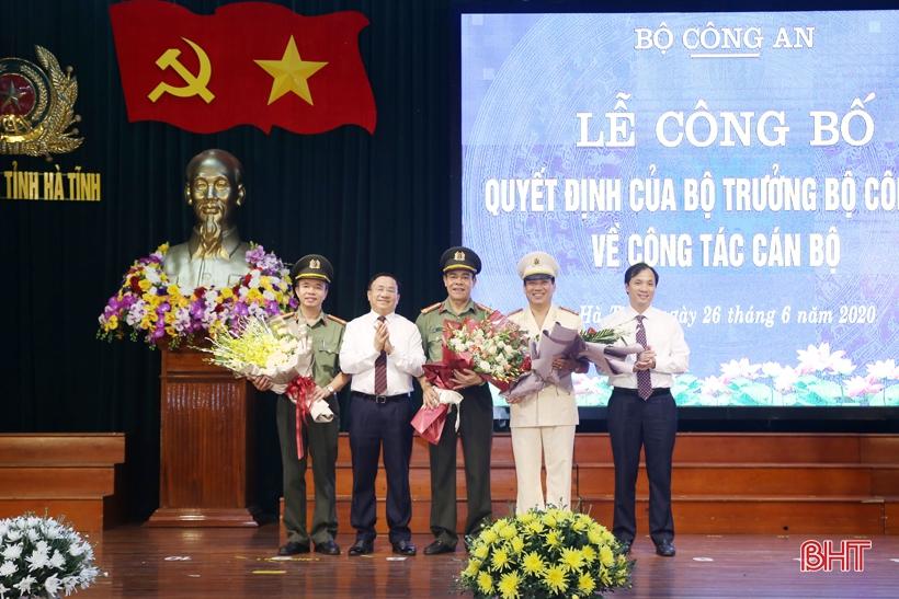 Phó Giám đốc Công an Nghệ An được điều động, bổ nhiệm chức vụ Giám đốc Công an tỉnh Hà Tĩnh