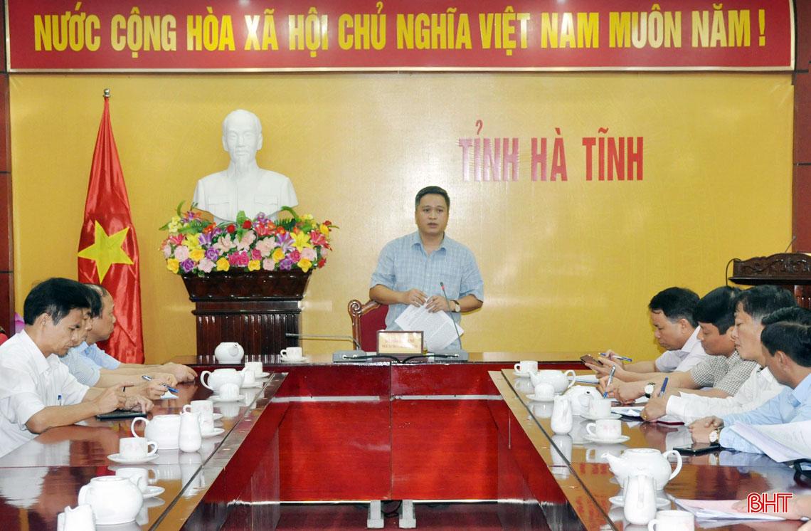 Chủ tịch UBND tỉnh Hà Tĩnh: Phát huy lợi thế từng ngành, địa phương để phục hồi, phát triển kinh tế