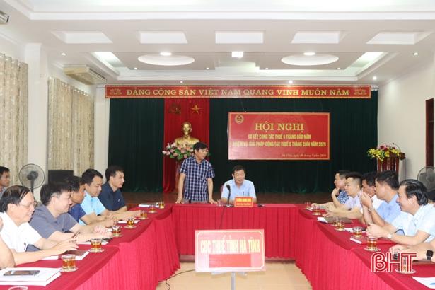 Hà Tĩnh là một trong những tỉnh, thành trên cả nước thu nội địa đạt hơn 50% dự toán