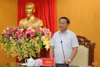 """Đại hội Đảng bộ thành phố phải là đại hội """"mẫu"""" của Hà Tĩnh"""