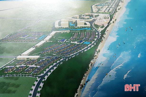 Doanh nghiệp đề xuất đầu tư khu du lịch biển cao cấp gần nghìn tỷ tại Hà Tĩnh