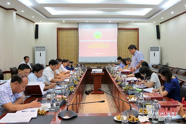 100% thành viên Hội đồng thẩm định Trung ương bỏ phiếu công nhận Thạch Hà đạt chuẩn huyện nông thôn mới