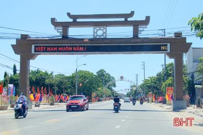 """Hơn 57 tỷ đồng 'trang điểm"""" cho đô thị phía Bắc Hà Tĩnh"""